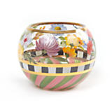 Flower Market Glass Globe Vase - Small