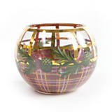 Thistle Glass Globe Vase - Small