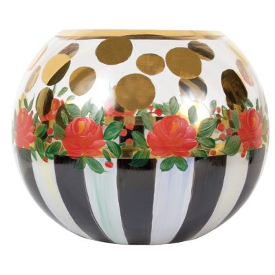 Heirloom Glass Globe Vase - Medium