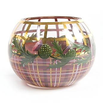 Thistle Glass Globe Vase - Medium