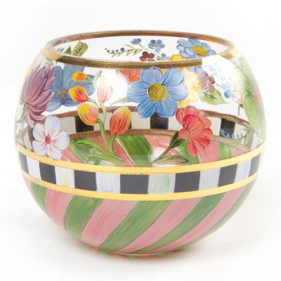 Flower Market Glass Globe Vase - Large