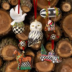 All Glass Ornaments