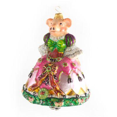 Glass Ornament - Pigeen