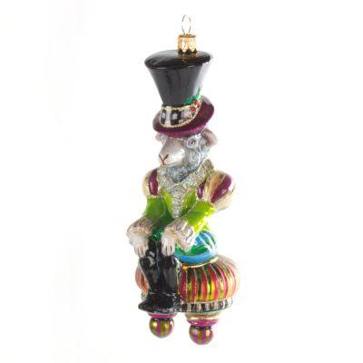 Glass Ornament - Mr. Woolens