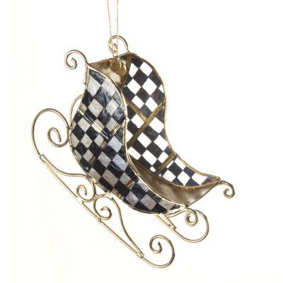 Cutter Sleigh Ornament