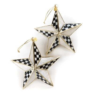 Star Bright Ornaments - Set of 2