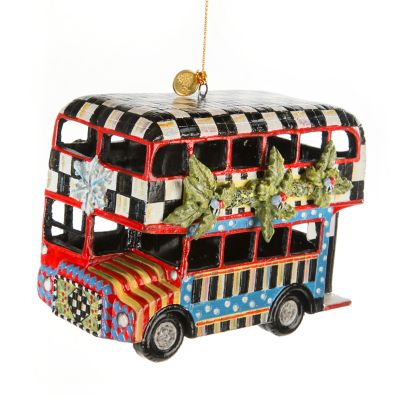 Double Decker Bus Ornament