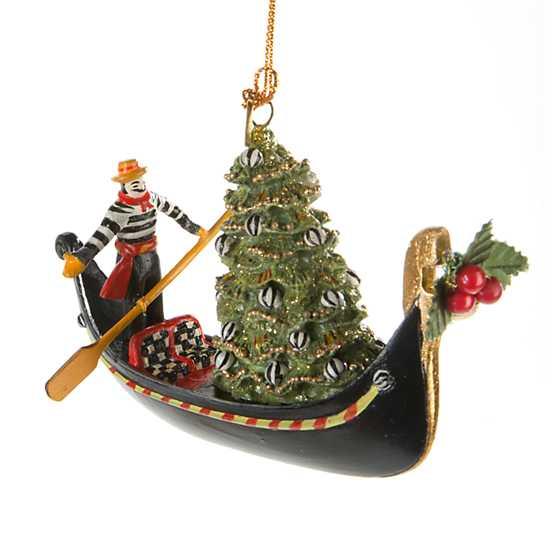Mackenzie Childs Gondola Ornament