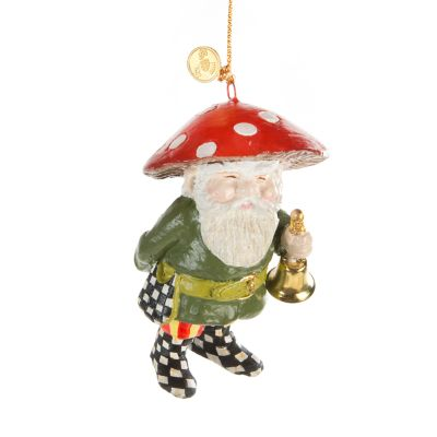 Home Sweet Gnome Ornament - Bell