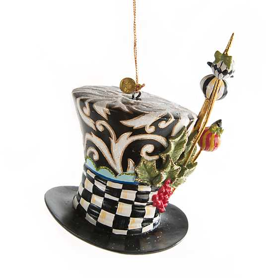 Mad Hatter's Hat Ornament