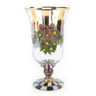 Evergreen Pedestal Vase
