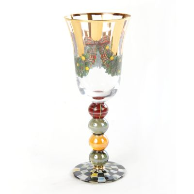 Evergreen Red Wine Glass