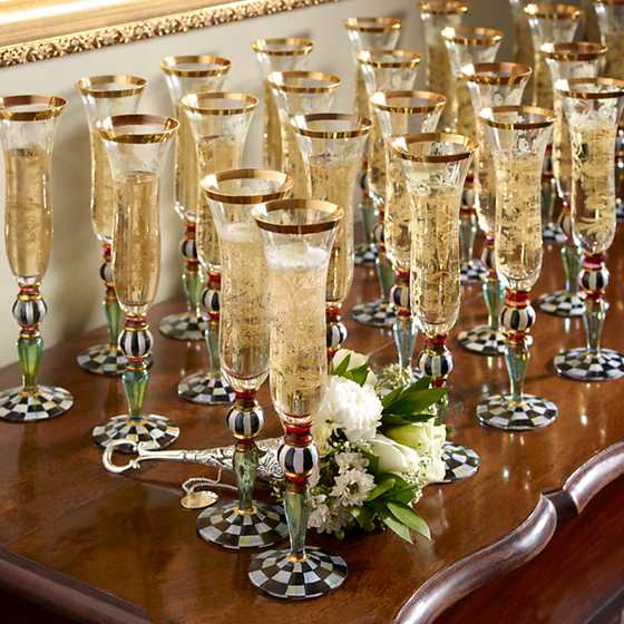 Blooming Champagne Flute