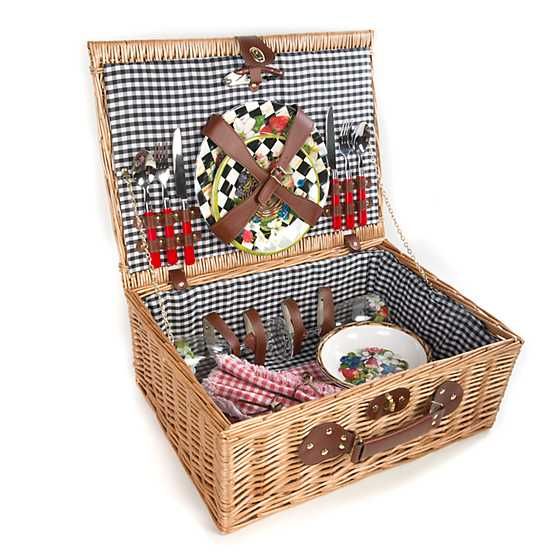 Berries & Blossoms Picnic Hamper for Two