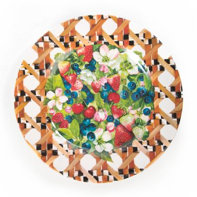 Berries & Blossoms Buffet Plates - Set of 4