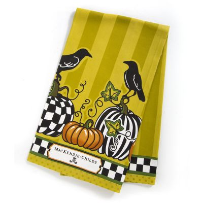 Talking Crows Dish Towel