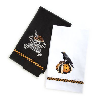 Elizabethan Halloween Guest Towels - Set of 2