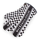 MacKenzie-Childs Oven Mitts - Black & White
