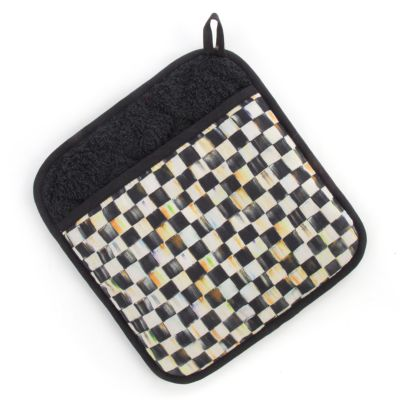 Courtly Check Pot Holder