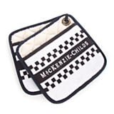 MacKenzie-Childs Pot Holders - Black & White