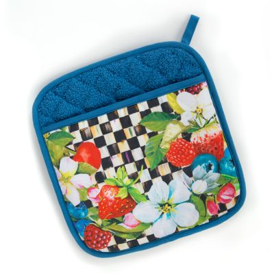 Berries & Blossoms Pot Holder