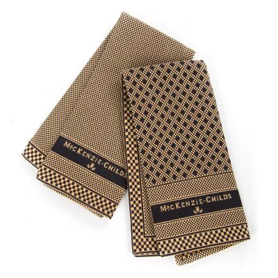 Dinner is Served Dish Towels - Set of 2