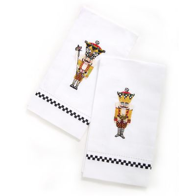 Nutcracker Guest Towels - Set of 2