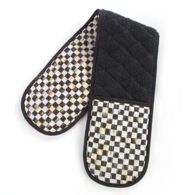 Courtly Check Double Oven Mitt