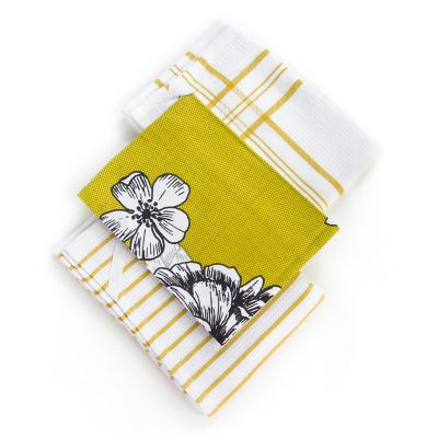 Kitchen Garden Dish Towels - Set of 3