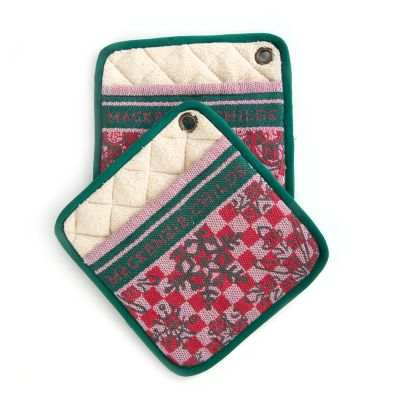 Tis the Season Pot Holders - Set of 2