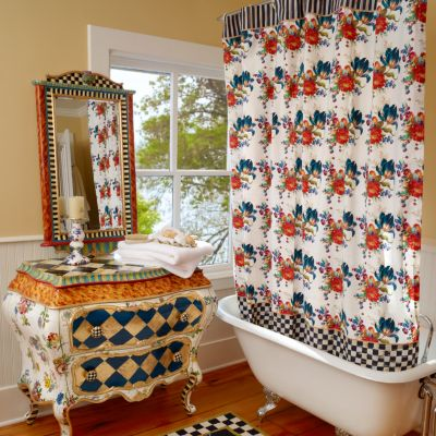 Shower Curtains & Bath Mats