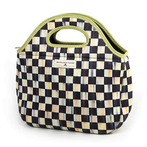 Courtly Check Lunch Tote