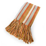 Honey Stripe Throw