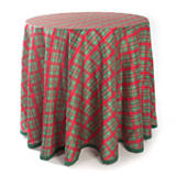 Holiday Tartan Tablecloth