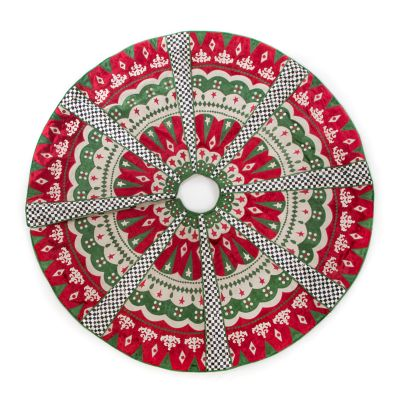 Santa's Workshop Tree Skirt
