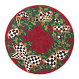 Beaded Evergreen Placemat