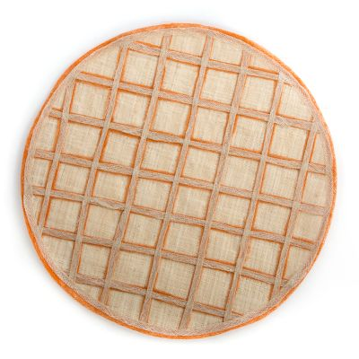 Lattice Placemat - Nasturtium