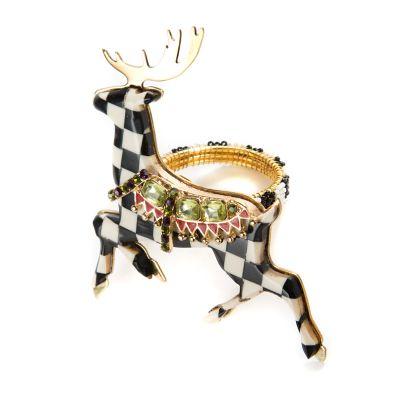 Prancer Napkin Ring