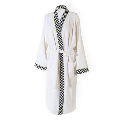 Courtly Check Robe - Medium