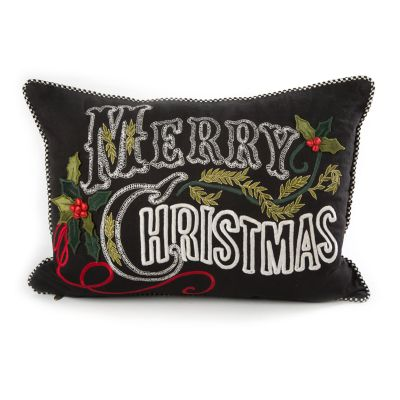 Merry Christmas Lumbar Pillow