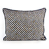 Courtly Check Pillow - Navy