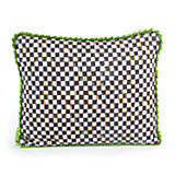 Courtly Check Pillow - Grass