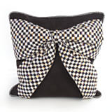 Bow Pillow - Black
