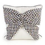 Bow Pillow - White