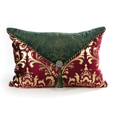 Yuletide Manor Pillow