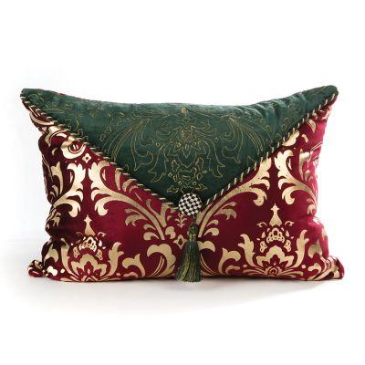 Yuletide Manor Pillow
