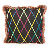 Criss Cross Square Pillow
