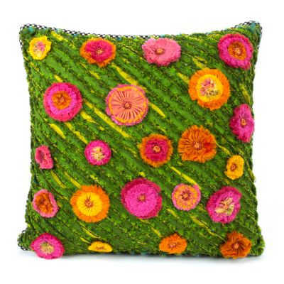 Moss Meadow Square Pillow