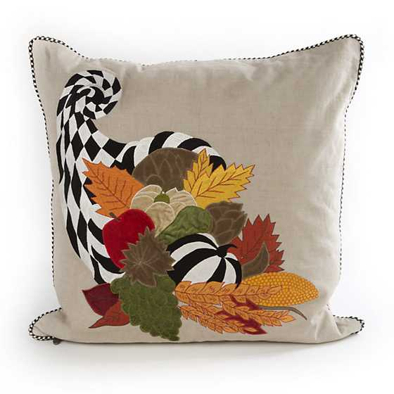 Mackenzie Childs Cornucopia Pillow