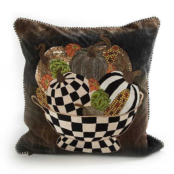 Mackenzie Childs Autumn Bounty Pillow